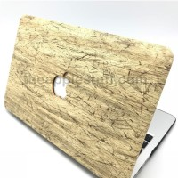 MacBook Case ANTIQUE WOOD YELLOW