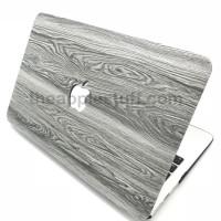 MacBook Case WOOD GRAIN GREY