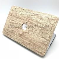 MacBook Case ANTIQUE WOOD CREAM