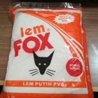 Lem Pvac Fox Putih 800 gr Kantong Orange