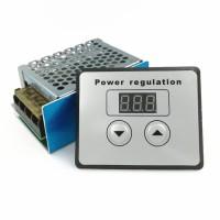 SCR Voltage Regulator Speed Controller Dimmer AC 220V 4000W Digital