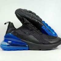 SEPATU RUNNING NIKE AIRMAX 270 BLACK PHOTO BLUE