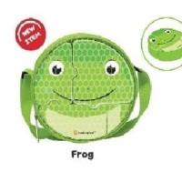Lunch Box Set Puzzle Technoplast Frog Kodok Green Hijau Kotak Makan