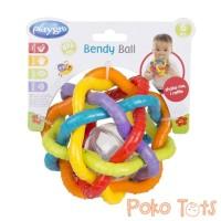 Playgro Bendy Ball with Rattle Sound Mainan Bayi Bola Kerincing