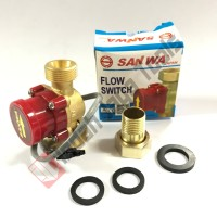 SANWA Flow Switch 3/4 Inch - Otomatis Pompa Air Dorong Booster Pump