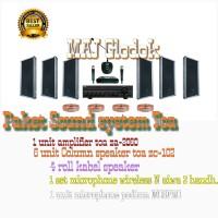 Paket sound system Toa Ruangan atau Taman