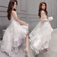 GAUN PENGANTEN, PESTA PARTY WEDDING COCKTAIL CASUAL GOWN ELEGENT DRESS
