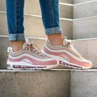 Sepatu Wanita Nike Air Max 97 White Pink Premium Quality