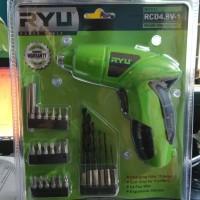 Mesin Bor Buka Pasang Baut Charge - Obeng Cash Listrik RCD 4.8V-1 RYU