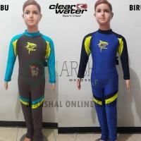 Clear Water Baju Renang Diving Anak Lengan Kaki Panjang CLDS002 - 4-5 tahun