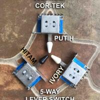 5 Way Lever Switch Gitar Cor Tek Selector Guitar Pickup 5way Cor-Tek