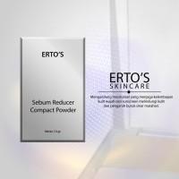 Ertos Sebum Reducer All In One Compact Powder - Skincare Original BPOM