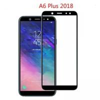Tempered Glass Full Lem 5D Samsung A6 Plus 2018 Anti Gores Kaca Warna