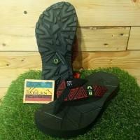 Sandal Jepit Gunung Anak Outdoor Pro Wave JR RED / for kids