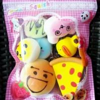Promo Sequisy Mainan Squishy Paket Hemat Squisi Koleksi Kado Anak Lucu