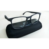 Kacamata Frame Lacoste L2236 035 Abu Abu Doff Model Casual & Vintage