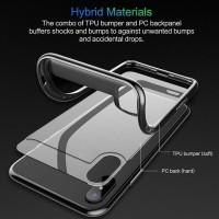 Iphone X IphoneX - Rock Case TPU Acrylic Transparent Premium