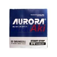 Aurora 90D23L SE-Q85 / Aki / Accu Khusus iStop Mazda 2 Sky Active