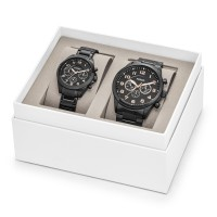 Fossil HIS AND HER CHRONOGRAPH GIFT SET BQ2278