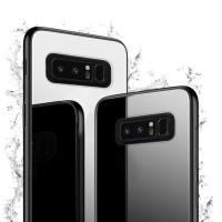 Samsung Galaxy Note 8 Case Luxury Tempered Glass Premium Case