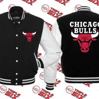 Jaket Varsity Chicago Bulls NBA Basket