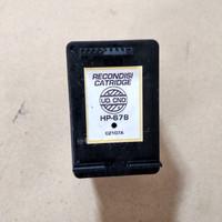 RECONDISI TINTA HP 678 BLACK