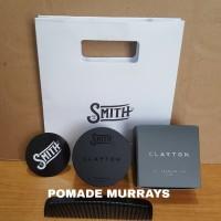 SMITH CLAYTON PREMIUM HAIR CLAY POMADE MATTE free sisir