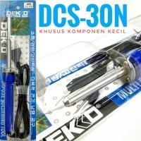 Dekko DCS-30N Solder 30watt, solder khusus komponen kecil, hape, kabel