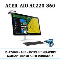 PC All In One ACER AC22-860 i5-7200U - Resmi