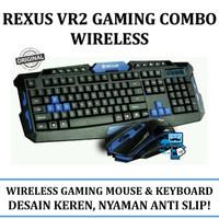 Rexus Keyboard+Mouse Wireless Gaming VR2 Warfaction