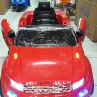 Mainan Mobil Aki PMB 8188 Range Rover Remote Musik Ukuran Besar Mura