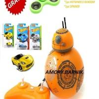 Mainan Robot RC Homy 77 ORIGINAL Jual Robot Homy 77 V2 Kuning BB8