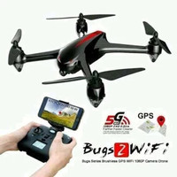 MJX B2W Bugs 2W WIFI FPV Brushless Motor 1080p HD Camera GPS