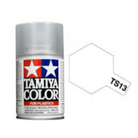 TAMIYA TS 13 CLEAR PAINT SPRAY FOR PLASTICS