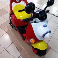 Mainan Motor Aki Pliko Model micky
