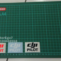 Cutting sticker dji pilot oracal lebih awet terang spark mavic phant