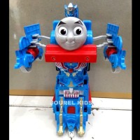 mainan anak thomas Rc transformer robot deformation car Mobil remote