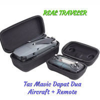 DJI Mavic and Remote Bag Tas Pisah Hard Case Terlaris