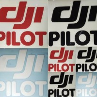 Sticker Stiker DJI PILOT Cutting Sticker DJI PILOT
