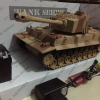 Mainan remote controle Tank series sj18