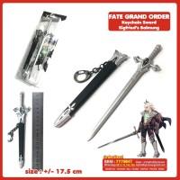 Gantungan Kunci Anime Fate Grand Order Pedang Siegfried Balmung