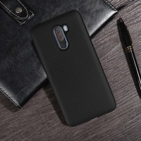 XIAOMI POCOPHONE F1 SOFT CASE SILICONE BACK CASING COVER FULL CARBON