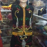 Pakaian dayak anak - baju adat kalimantan