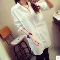 KEMEJA KOREA BAJU FASHION WANITA COAT JAKET IMPORT KOREA DRESS 2011027