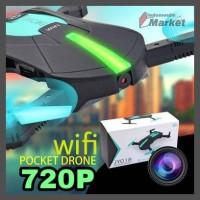 Selfie Drone Elfie FPV Quadcopter Drone WiFi 2MP 720P Camera - JY018