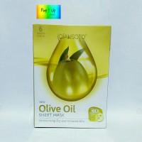 Qiansoto Olive Oil Sheet Mask / Masker Tissue Wajah Zaitun