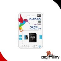 Micro SD ADATA 32GB Class 10 With Adaptor SD Card Micro UHS-1/25Mbps