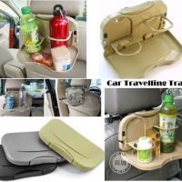 A107 Meja Lipat MobilCar Travel Dining Tray Portable-Tmpt Makan Minum