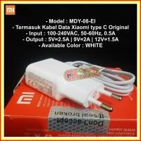 Charger Xiaomi Type-C Mi4C Mi5 2A ORIGINAL 100% USB Kabel Type C ORI