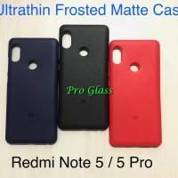 C105 Xiaomi Redmi Note 5 / PRO Frosted Matte Case Ultrathin Premium
